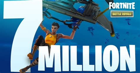 fortnite battle royale hits  million players