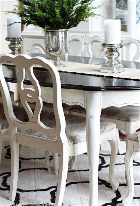 dining room tables painted furniture and room ideas on