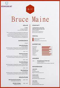 20 awesome resume templates 2016 o get employed today With awesome resume