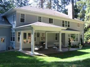House Porches Designs Photo Gallery by Back Porch Ideas Casual Cottage