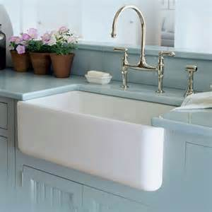rohl country kitchen bridge faucet fireclay kitchen sinks fireclay single bowl fireclay