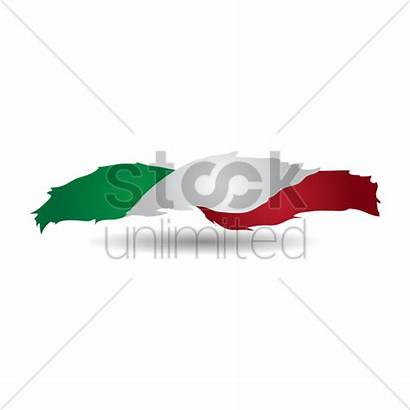 Flag Italy Graphic Stockunlimited