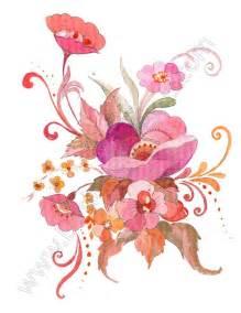v17 free swirl flower bouquet clip designers nexus