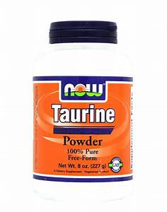 Taurine Powder By Now Foods  227 Grams