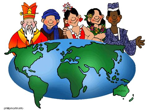 Culture Clipart Cultures Around The World Clipart Clipart Panda Free