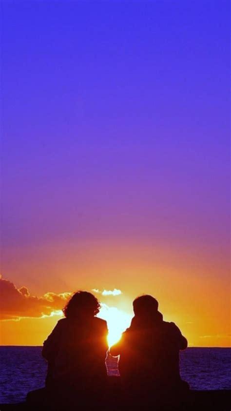 romantic sunset iphone wallpaper iphone wallpapers