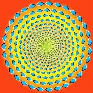 Optical Illusion Deep Circle Digital Art - Optical ...