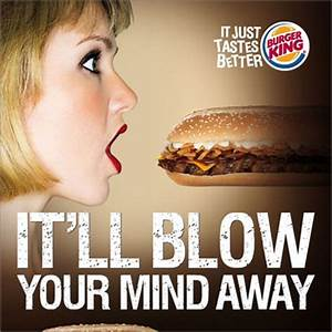Spot Any Suggestive Imagery in This Burger King Ad? | Adweek