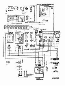 Datsun 200sx  1980  - Wire Diagram - Automatic Speed Control Device  A S C D