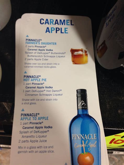 pinnacle recipes  pinterest pinnacle vodka drinks