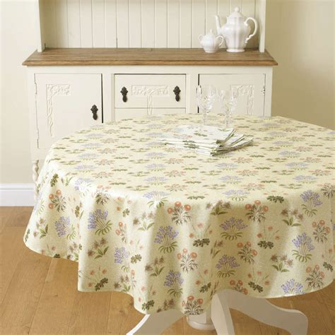 oilcloth tablecloth william morris lily 58 quot 147cm round pvc oilcloth floral tablecloth william morris lily