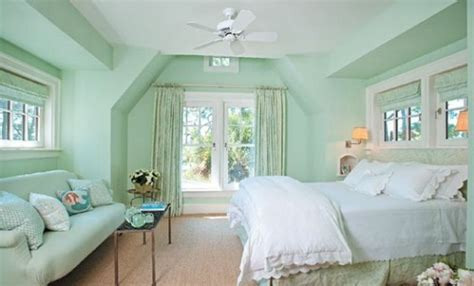 A Magical Flair Gives Your Living Room Wall Color Mint