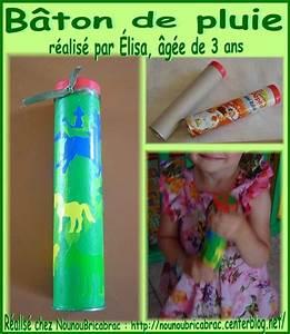 Bricolage 3 Ans : b ton de pluie 2 r alis par lisa g e de 3 ans ~ Melissatoandfro.com Idées de Décoration