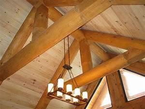 Toit En Bois : maison et chalet de style scandinave prestige bois rond ~ Melissatoandfro.com Idées de Décoration