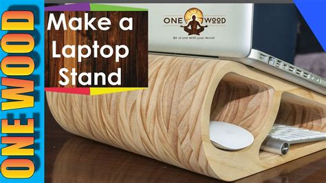 woodworking project   wooden laptop stand  learn