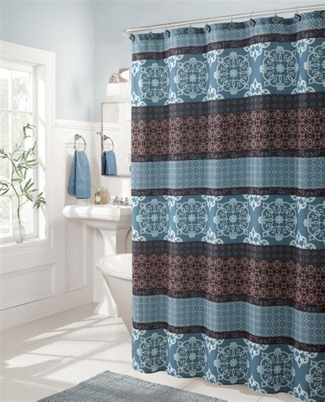 sonata 13pc turquoise shower curtain set shop your way