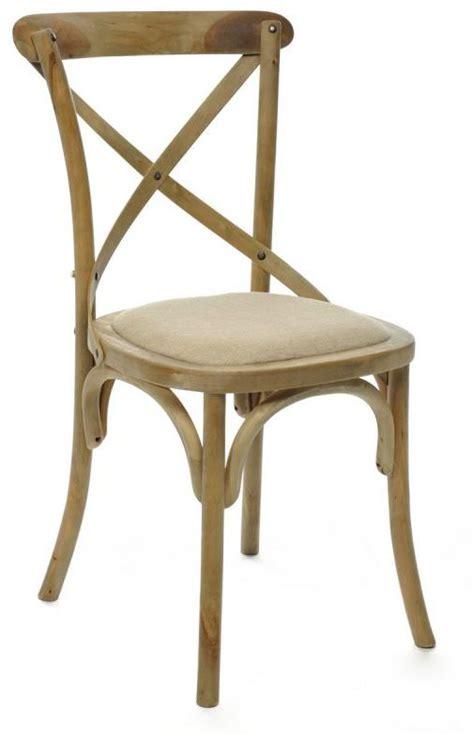 chaise bois cuisine chaise de cuisine bois naturel
