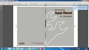 Toyota 4y Engine Manual Software