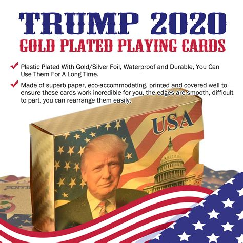 Jan 15, 2012 · about this report card. Trump 2020 Gold Plated Playing Cards Sale - Republican Dogs