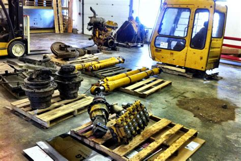 Used heavy equipment parts can help you save thousands of ...
