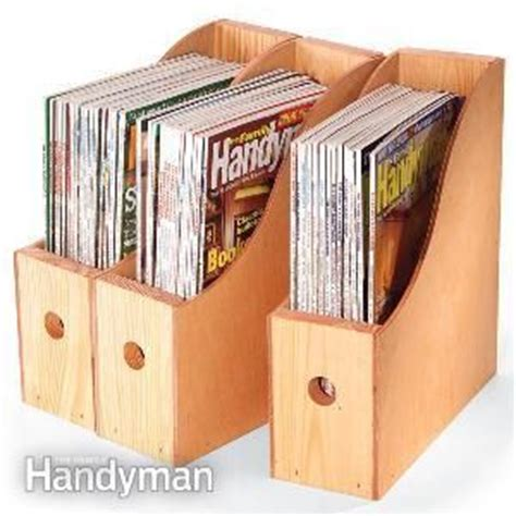 wood magazine holder plans woodworking projects plans