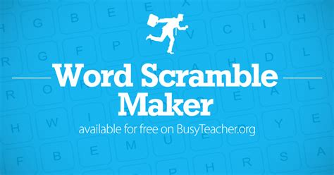word scramble maker    word scramble