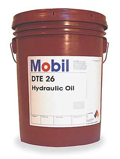 hydraulic oil mobil dte  iso sae   gallon pail