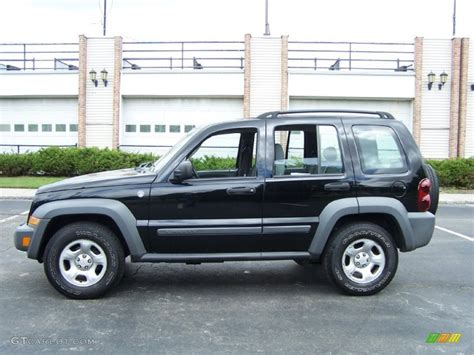 black jeep liberty interior 2005 jeep liberty black 200 interior and exterior images