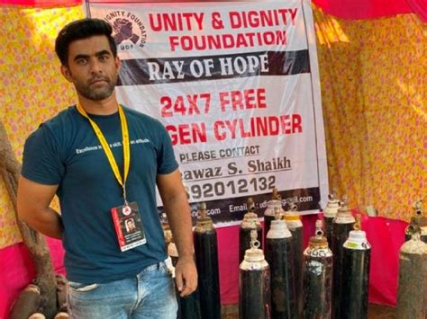 Angels of Mumbai: Meet the 'oxygen man' who is saving the ...