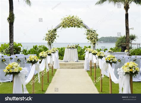 Garden Decoration Wedding by Best Garden Wedding Setup Wedding Ideas