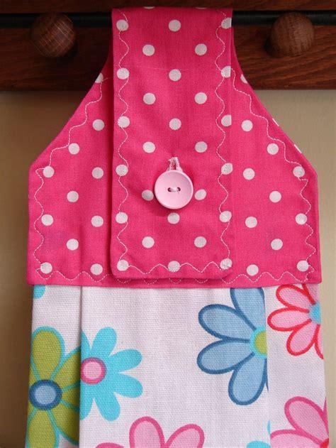 Spring Fling Hanging Kitchen Towel. $6.00, via Etsy