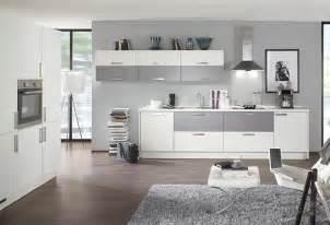 graue wandfarbe küchen küchenfronten in grau hellgrau