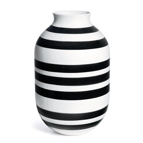 Vase Schwarz Weiß by K 228 Hler Design Omaggio Vase H 50 Cm Schwarz Wei 223