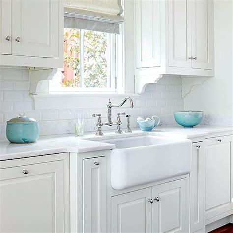kitchen cabinet accents farmhouse sink ideas subway tile backsplash turquoise 2343