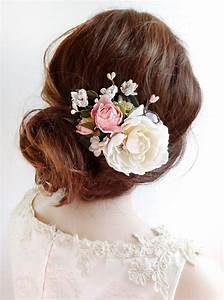 Bridal Hair Clip Floral Hair Clip Bridal Hair Piece
