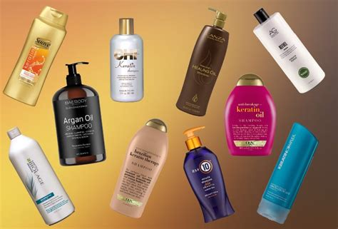 keratin shampoos   hair types update