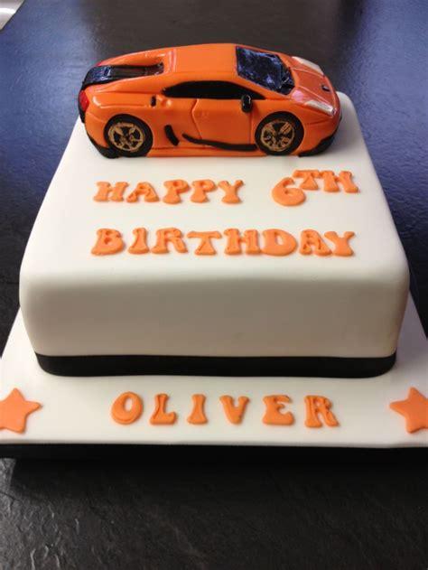 Lamborghini Cake  Kiddies Food  Pinterest  Cakes And