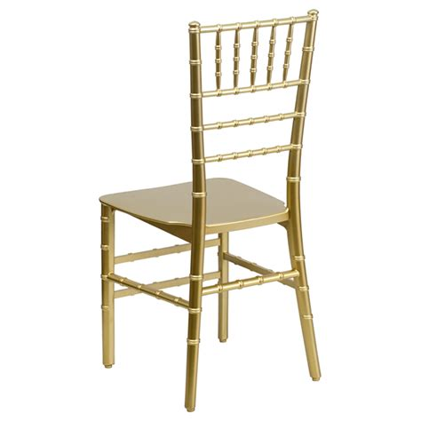 envychair resin chiavari chair gold