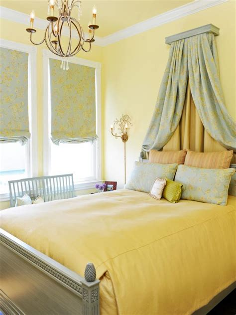 Decorating Ideas For Yellow Bedrooms by 15 Cheery Yellow Bedrooms Hgtv