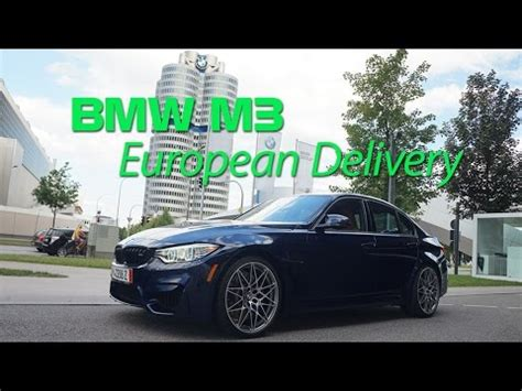 individual bmw  competition package european delivery