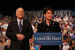 """McCain Was Just Bluffing When He Said """"Country First ..."""