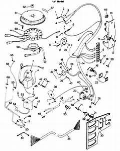 Force 125 Hp  1986  Electrical Components  U0026quot A U0026quot  Models Parts