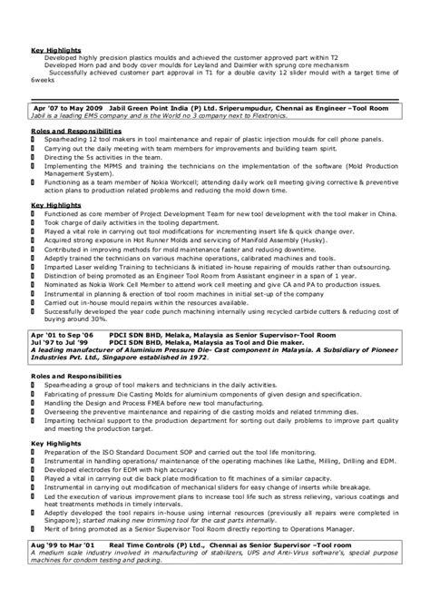 Resume Building Tool by Ravichnadran Resume