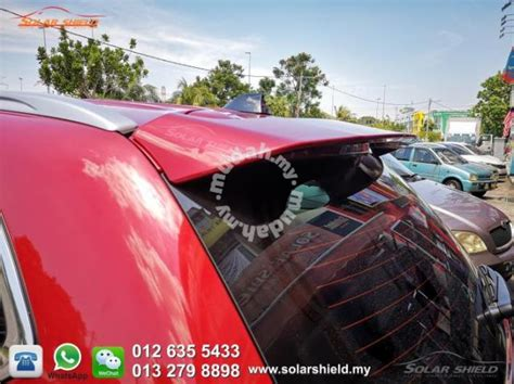 Mitsubishi Outlander Spoiler With Paint Bodykit - Car ...
