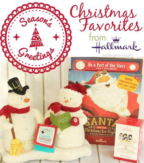 favorite hallmark christmas products