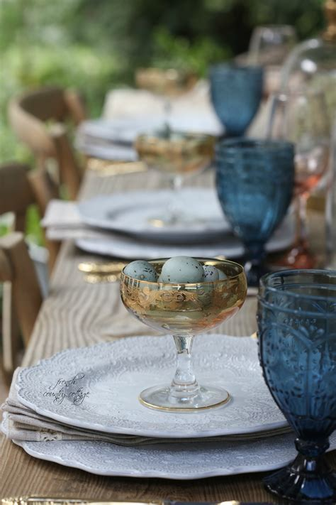 pastels golds   enchanted easter table setting