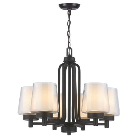 world imports lighting world imports 6 light rubbed bronze chandelier with