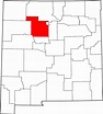 File:Map of New Mexico highlighting Sandoval County.svg ...
