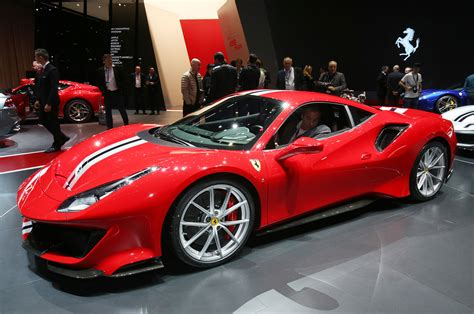 Find complete 2018 ferrari 488 gtb info and pictures including review, price, specs, interior features, gas mileage, recalls, incentives and much more at iseecars.com. 2018 Ferrari 488 Pista Strikes a Pose in Geneva | Automobile Magazine