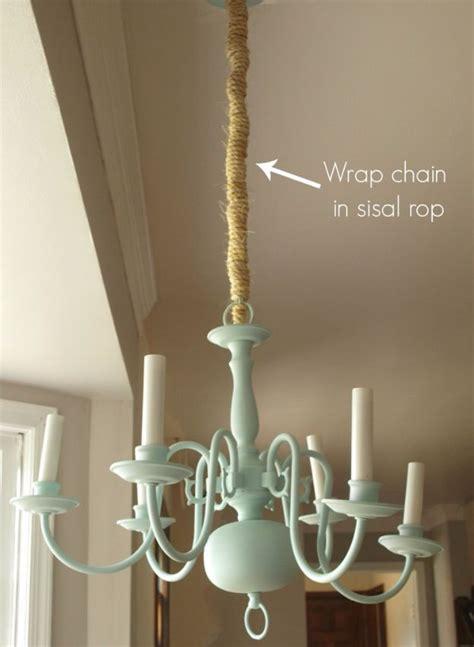 cool diy chandelier makeovers  transform  room